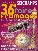 36e Foire aux Fromages à Seichamps Septembre 2014