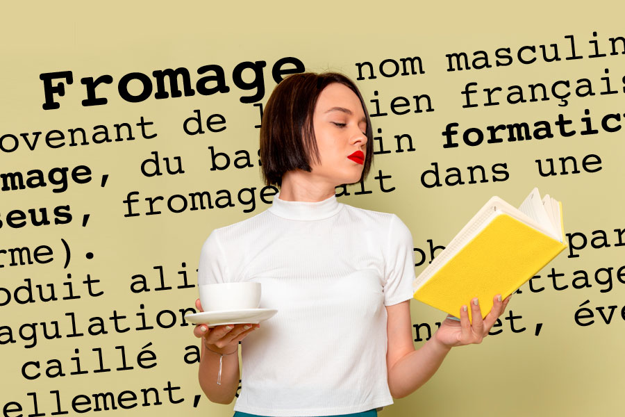 definition du mot fromage